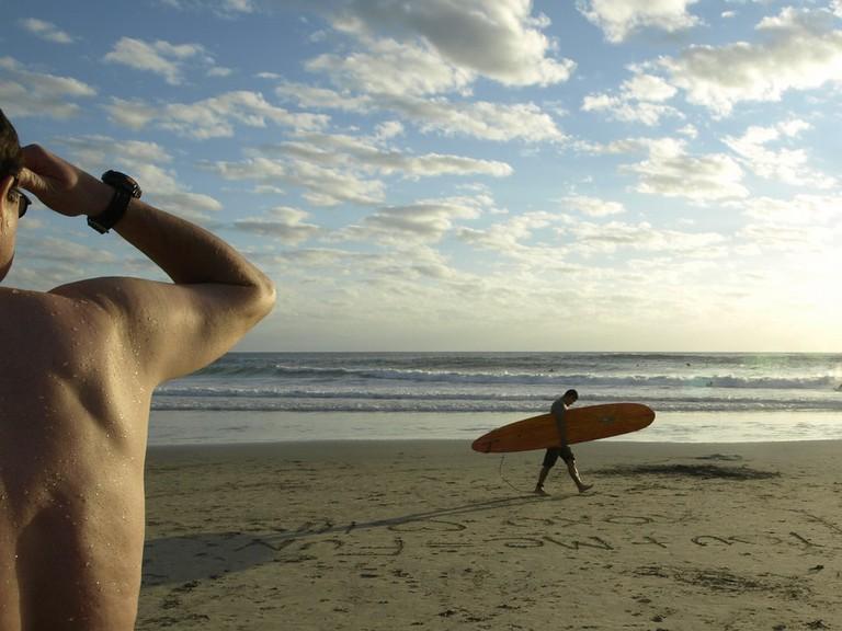 Isolated beach of Baja │