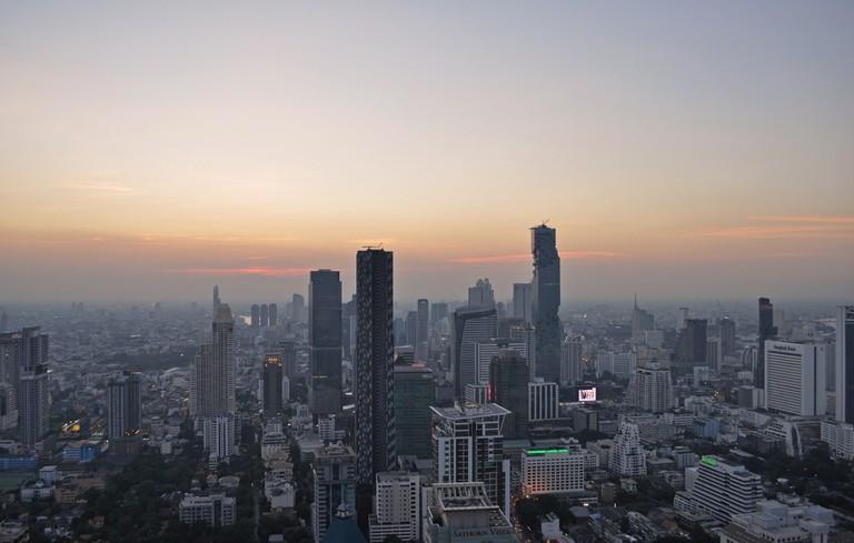 Bustling Bangkok