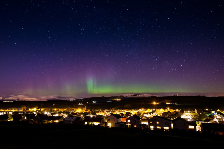 Northern Lights Over Fife