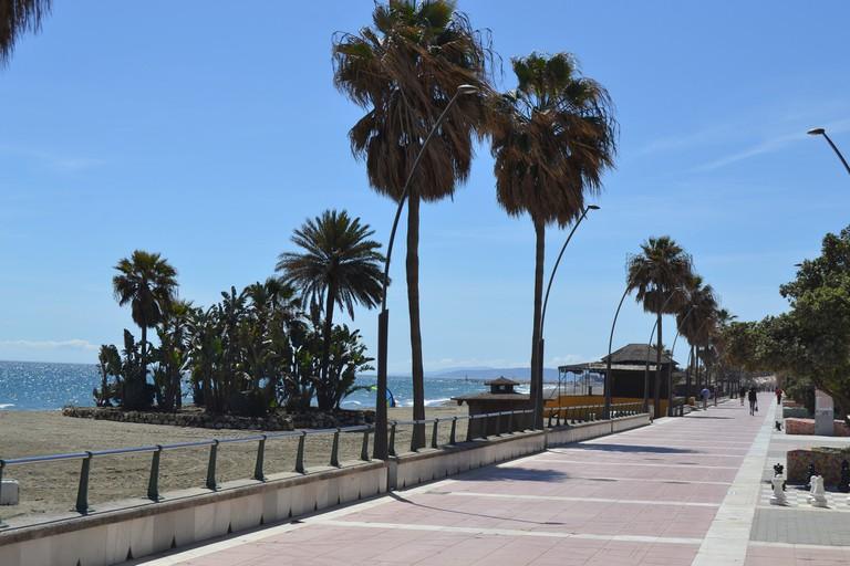 Estepona's balmy Paseo Maritimo Pedro Manrique; Emilio/flickr
