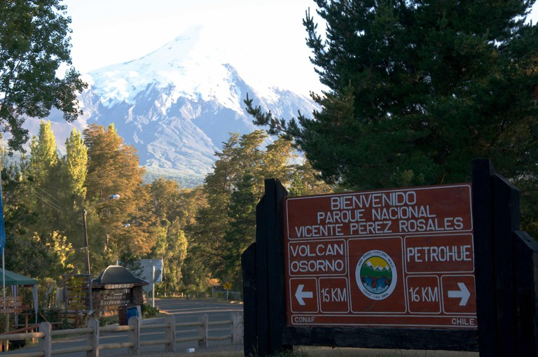 Bienvenido Parque Nacional Vicente Pérez Rosales