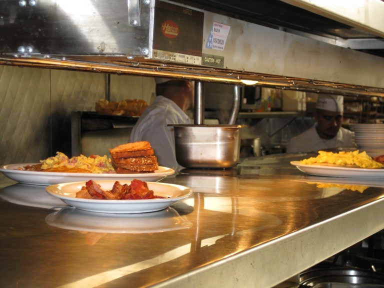 A diner in California