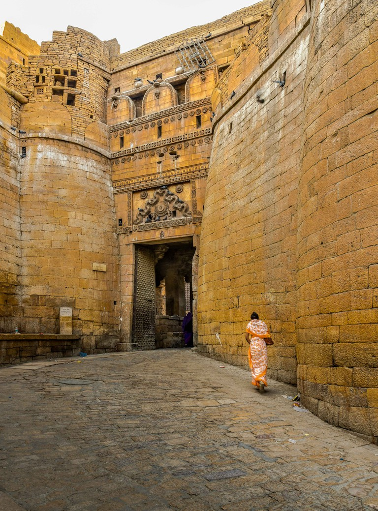 Jaisalmer fort is one of the fully preserved fortified cities in the world