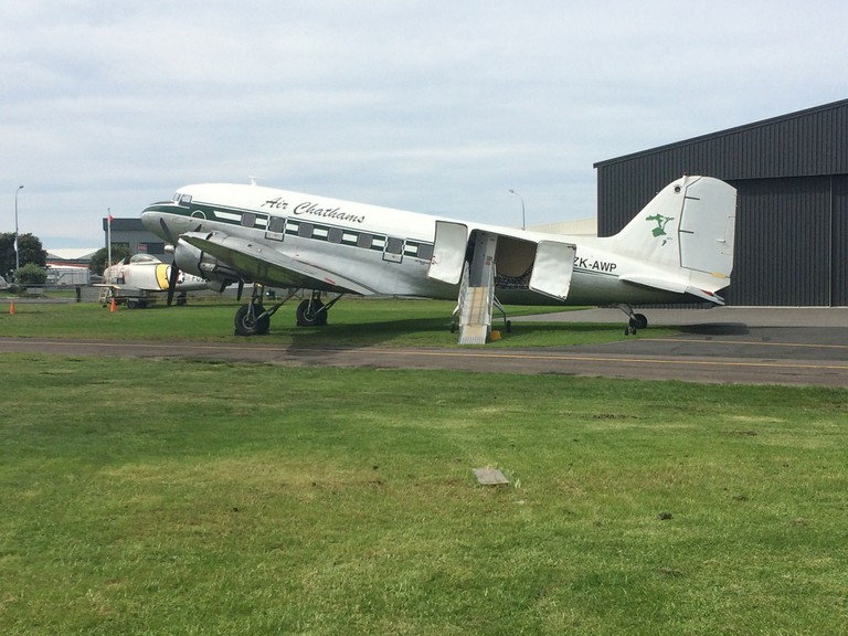 Air Chathams Aircraft at the Classic Flyers Museum