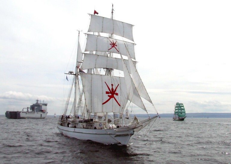 Omani Ship Race