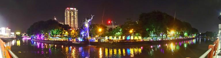 Surabaya at night