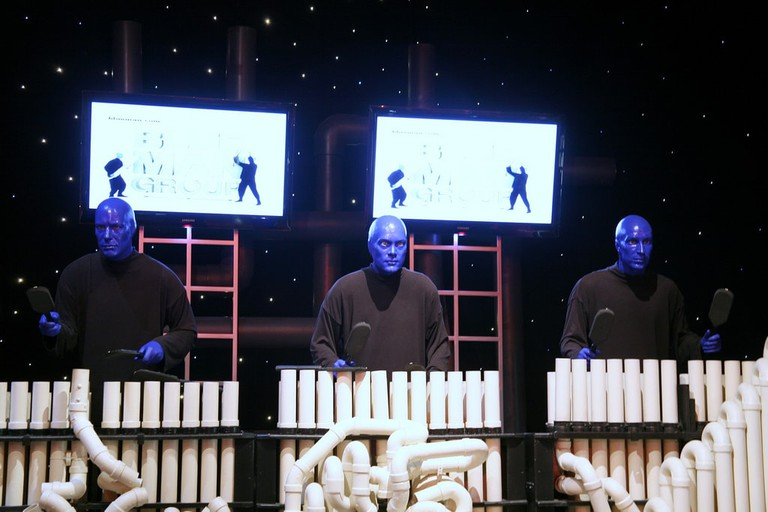 Blue Man Group | © Cliff/Flickr