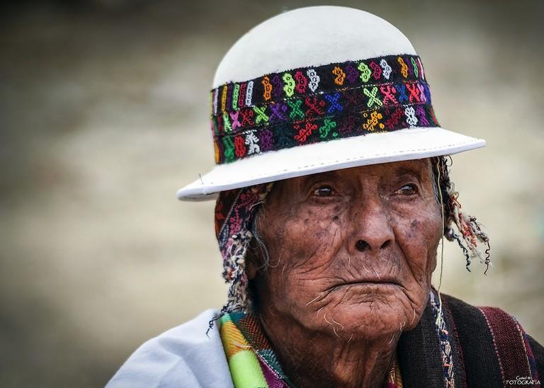Elderly Bolivian
