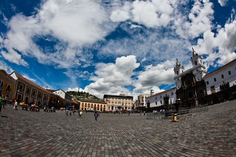 Quito: a city in the clouds