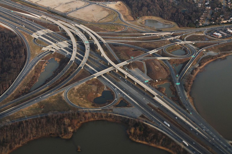 I-495 and I-295 in MD Potomac River | © formulanone/Flickr