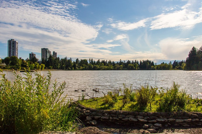 The Lost Lagoon in Stanley Park