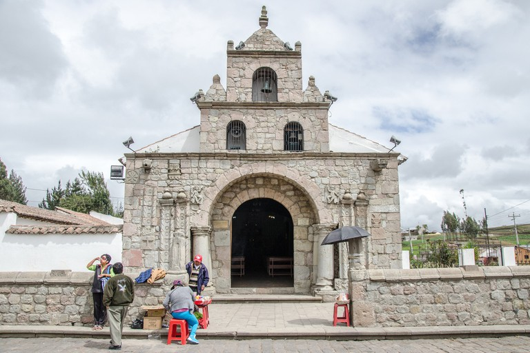 The oldest church in Ecuador