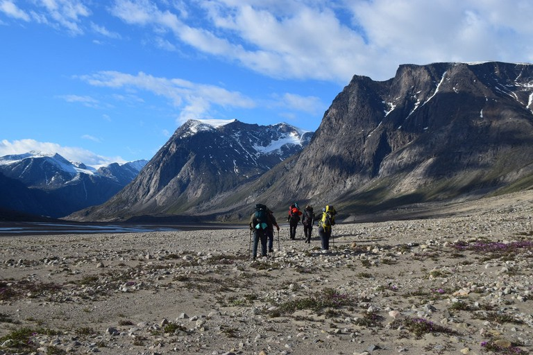 Hiking in Auyuittuq National Park