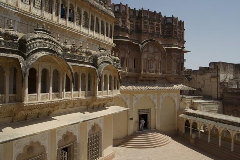 Mehrangarh is in Jodhpur, Rajasthan