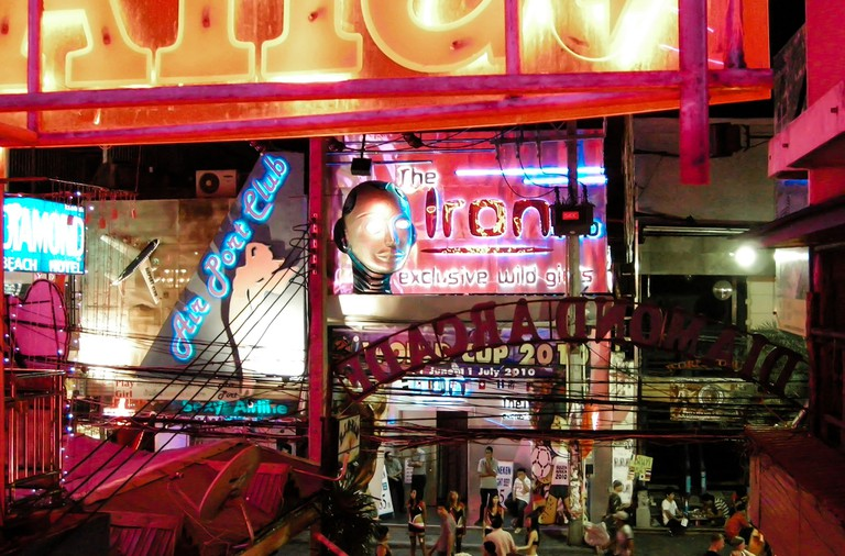Pattaya bar street