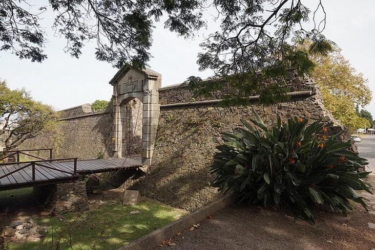 Old Gate at Colonia del Sacramento, Uruguay
