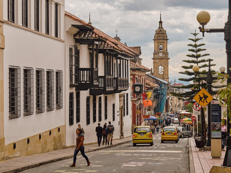 Bogota's streets are safe by day, but be wary at night