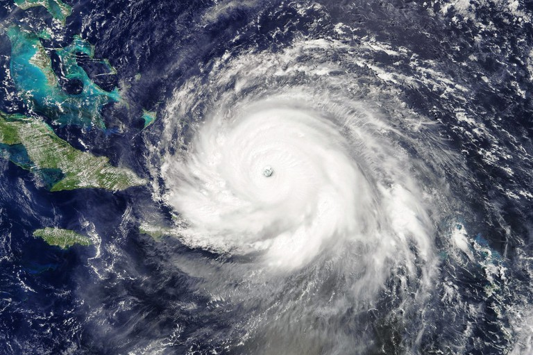 Hurricane Irma 7 September 2017 as seen by MODIS onboard Terra satellite