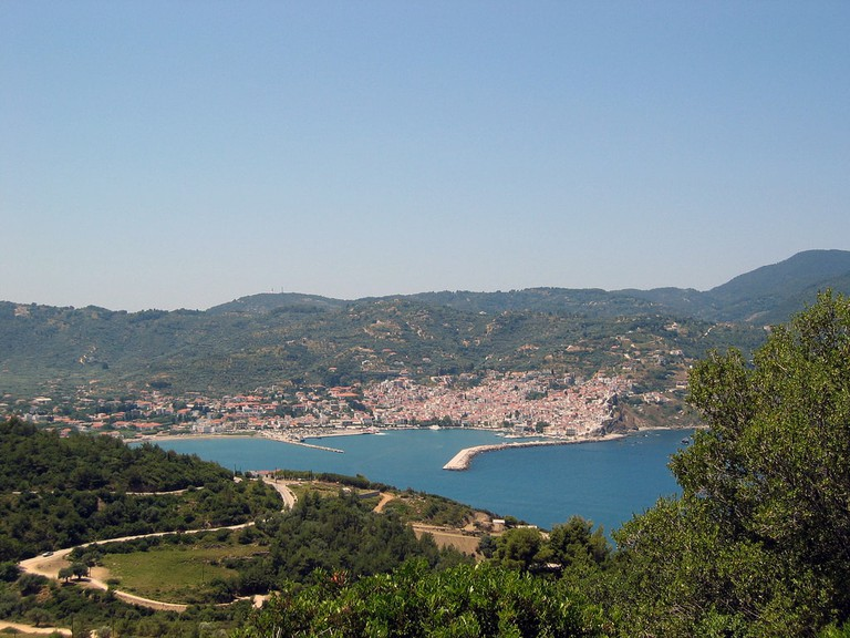 Harbour of Skopelos