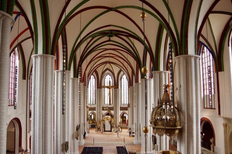 Green and Red Vaulting Nikolaikirche