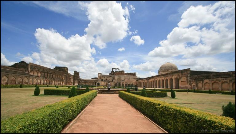 Bidar fort is in the Bidar district of Karnataka