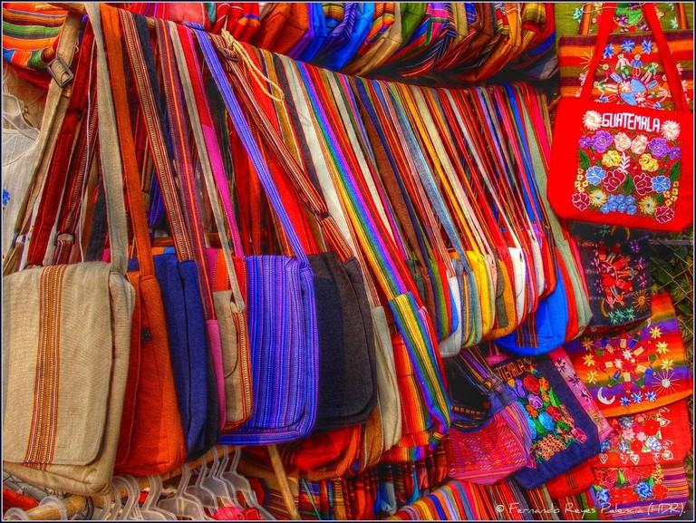 Guatemalan textiles, Lake Atitlan