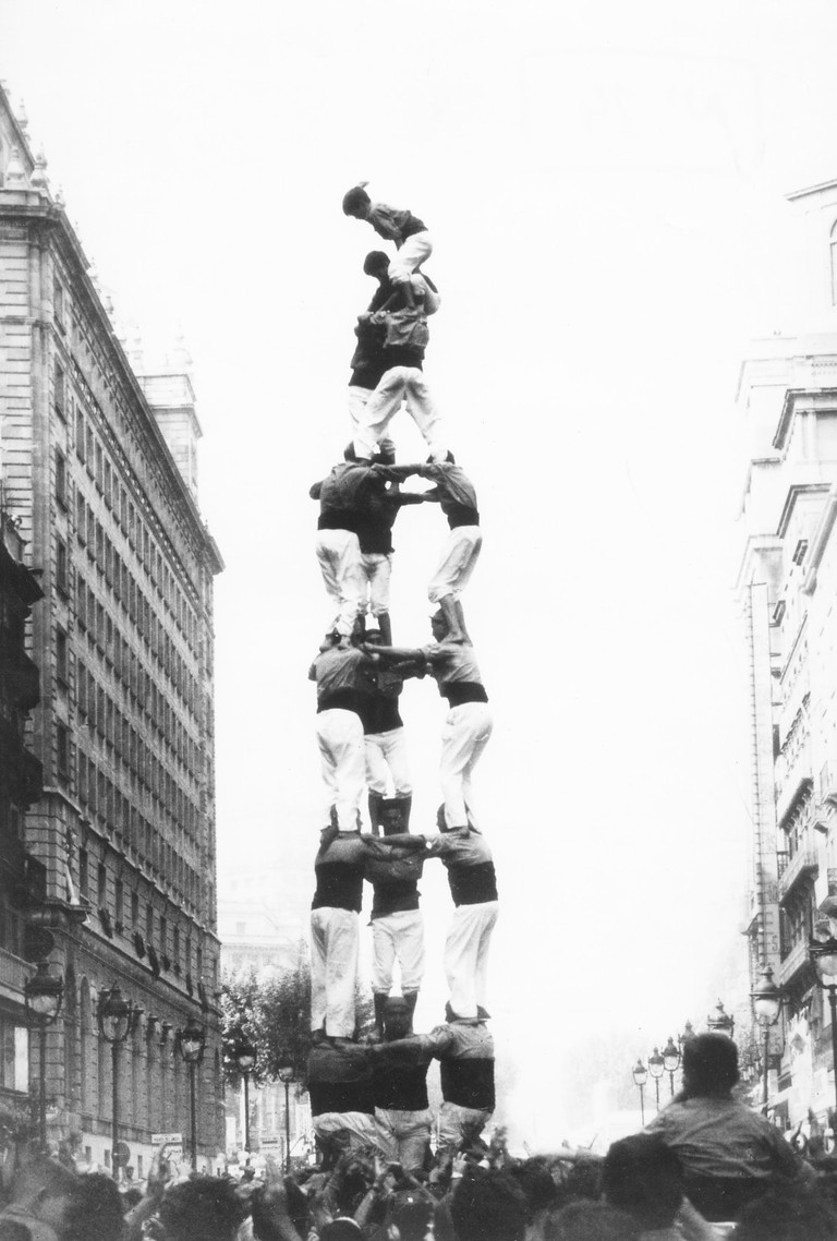 Human tower, 1966