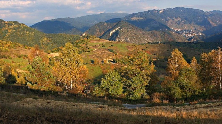 Autumn in the Rhodope Mountains