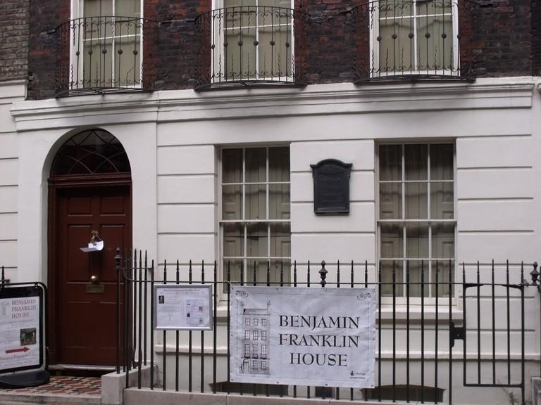 Benjamin Franklin House in London