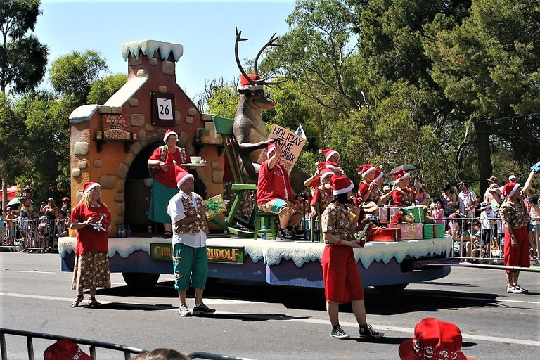 Christmas Pageant, Adelaide 2009