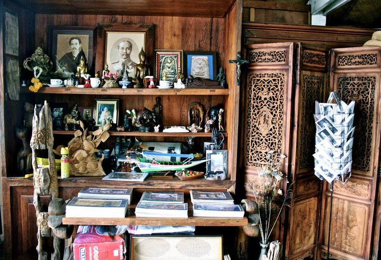 Thai crafts on display