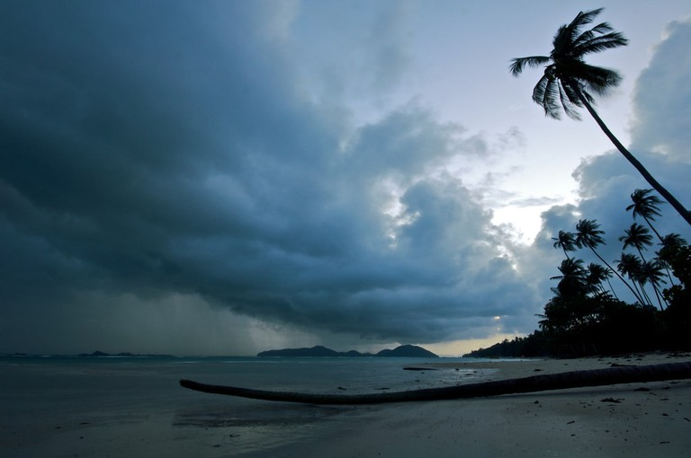 A rainy Koh Samui