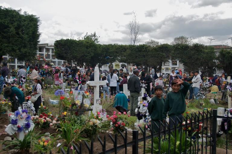 Day of the Dead, Ecuador   © A.Davey / Flickr