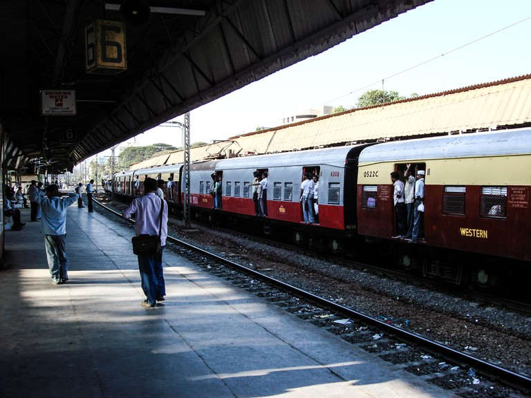 Traveling in the Mumbai local train is a rare occurrence for a South Mumbaikar