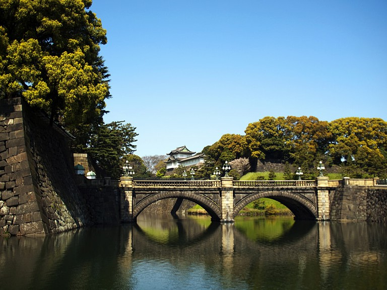 Bridge the Imperial Palace in Tokyo