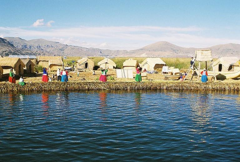 Lake Titicaca Reed Islands