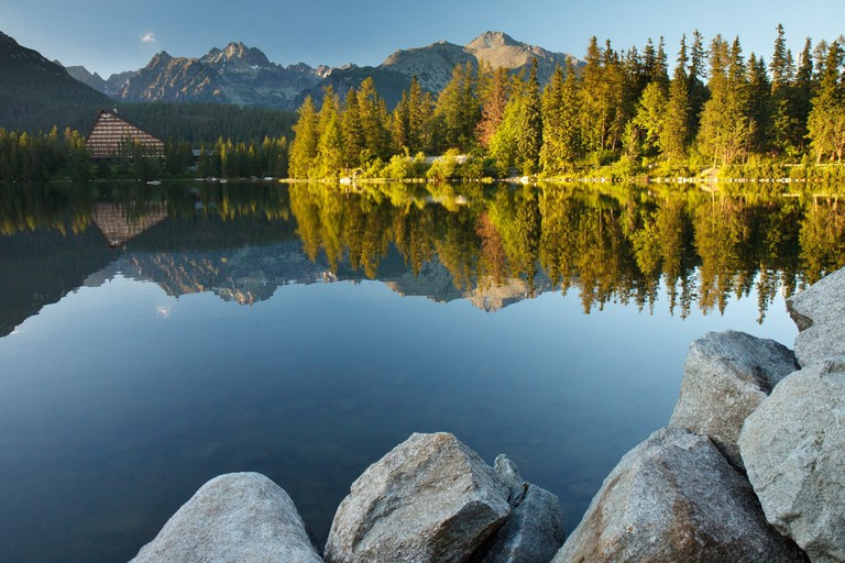 Enjoy splendid views in the High Tatras during the Tatry Tour race weekend