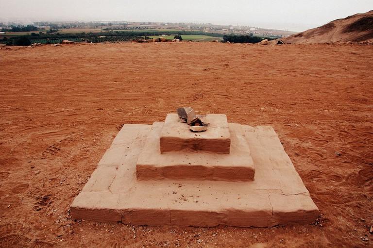 Site of human sacrifice rituals for the Incas