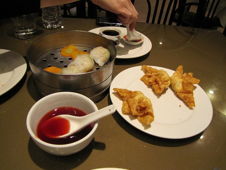 Chinese food at Salon Capon for Chifa, Lima, Peru