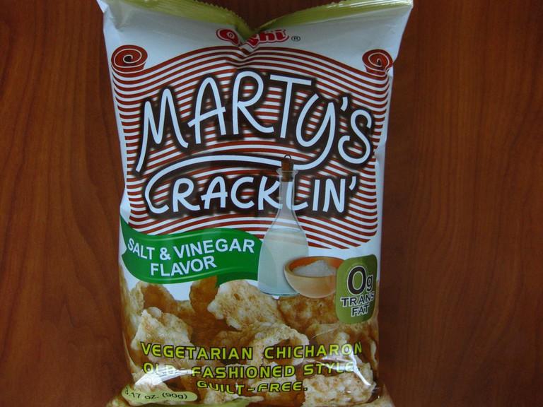 Marty's Cracklin' Vegetarian Chicharon