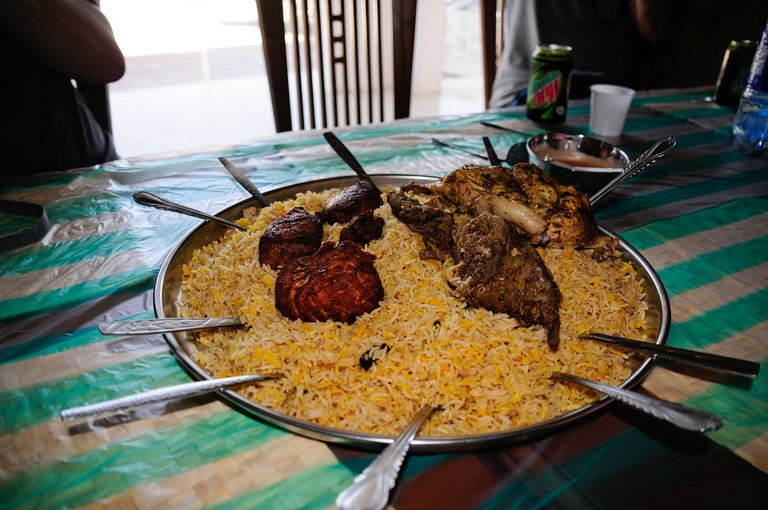 Traditional Omani Food