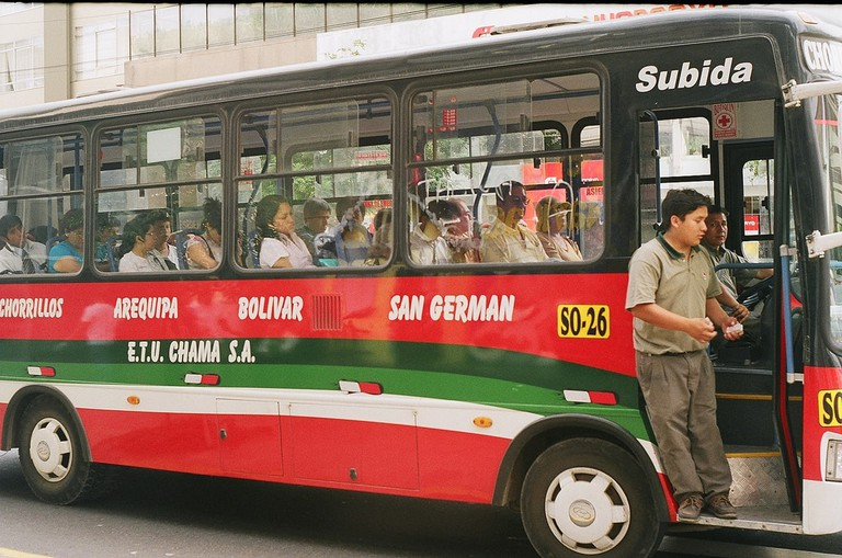 Bus in Lima
