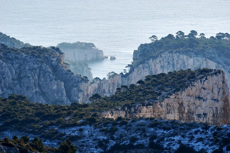 The calanques in winter without the crowds