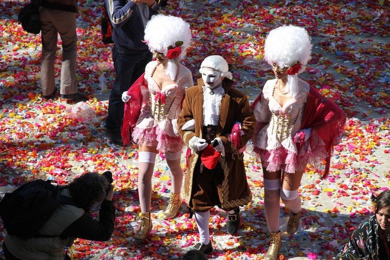 The Carnival king is an important part of the Catalan carnival © Ajuntament de Vilanova i la Geltrú