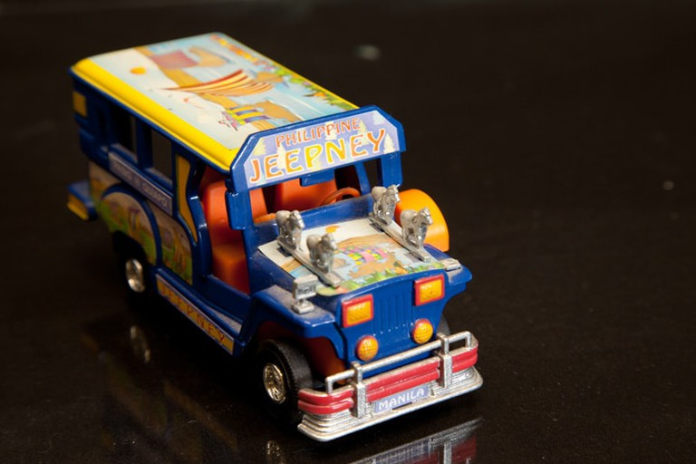 Miniature jeepney model