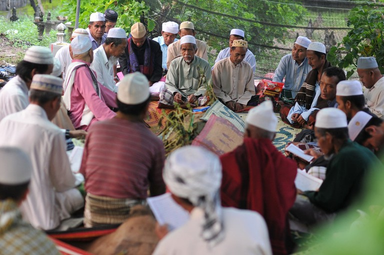 The vast majority of Thailand's Muslim population are just as friendly and welcoming as the rest