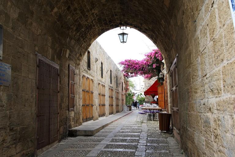 Old souks, Byblos, Jbeil