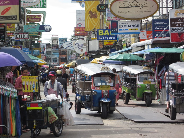 Backpacker haven, Khao San Road