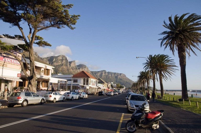 Parking along the Camps Bay strip