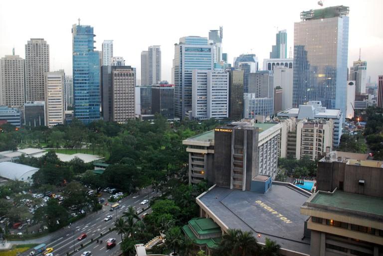 Manila buildings